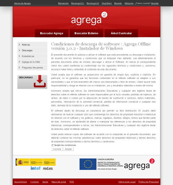 Descargas software. Agrega 2